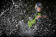 Rafael Ortiz during expedition Red Bull Chasing Waterfalls Chiapas, Mexico, from 17th January 2014 to 19th  January 2014, in Lacanja Village.