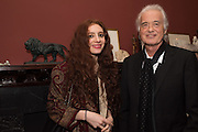 SCARLETT SABET; JIMMY PAGE Flaming June, The Making of an Icon, Leighton House Museum.  3 November 2016