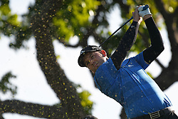 SINGAPORE, Jan. 17, 2019  Spain's player Sergio Garcia competes during the first day of competition at the SMBC Singapore Open held in Singapore's Sentosa Golf Club on Jan 17, 2019. (Credit Image: © Then Chih Wey/Xinhua via ZUMA Wire)