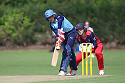 Yorkshire Diamonds Lauren Winfield (Captain) during the Vitality T20 Blast North Group match between Lancashire Thunder and Yorkshire Vikings at Liverpool Cricket Club, Liverpool, United Kingdom on 13 August 2019.