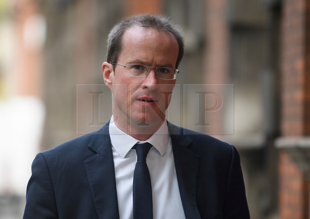 © Licensed to London News Pictures. 21/05/2019. London, UK. Chief Executive of the Vote Leave  MATTHEW ELLIOTT is seen in Westminster, London. On Thursday UK citizens will controversially go to the polls in European elections, three years after a majority voted to leave the EU. Photo credit: Ben Cawthra/LNP