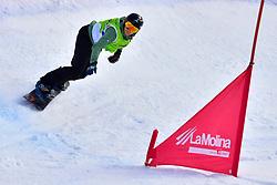 van BEEK Renske, SB-LL2, NED, Snowboard Cross at the WPSB_2019 Para Snowboard World Cup, La Molina, Spain
