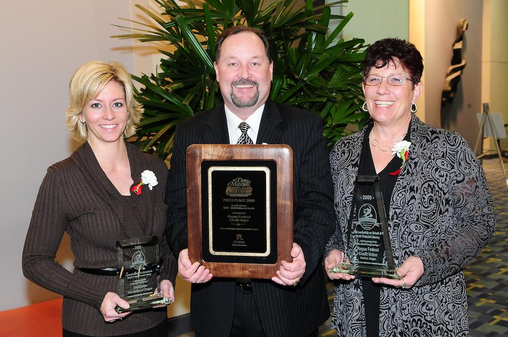 Credit Union National Association award ceremony in Washington DC
