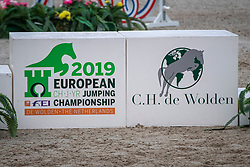 Podium<br /> European Jumping Championship Children<br /> Zuidwolde 2019<br /> © Hippo Foto - Dirk Caremans<br /> Podium