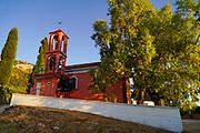 Renovated Rural parish church on the Island of Cephalonia, Ionian Sea, Greece