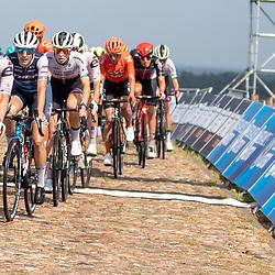 22-08-2020: Wielrennen: NK vrouwen: Drijber<br /> Lorena Wiebes (Netherlands / Team Sunweb), Lucinda Brand (Netherlands / Team Trek Segafredo Women), Demi Vollering (Netherlands / Team Parkhotel Valkenburg)