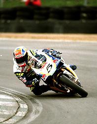 JAMES HAYDON REVE RED BULL DUCATI,  British Superbike Championship Brands Hatch 26th March 2000