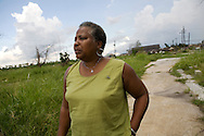 The Brumfield family of 2607 Tennessee st. in the Lower 9th Ward of New Orleans of Louisiana. The family has been living in their house for 35 years. They never found their house that was completely destroyed by Hurricane Katrina.