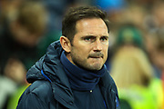 Chelsea manager Frank Lampard during the Premier League match between Newcastle United and Chelsea at St. James's Park, Newcastle, England on 18 January 2020.