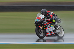 October 21, 2016 - Melbourne, Victoria, Australia - Australian rider Matt Barton (#14) of Suus Honda in action during the 2nd Moto3 Free Practice session at the 2016 Australian MotoGP held at Phillip Island, Australia. (Credit Image: © Theo Karanikos via ZUMA Wire)