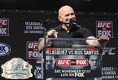 November 9, 2011: UFC on FOX Final Press Conference