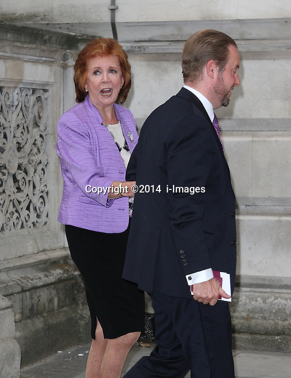 Image ©Licensed to i-Images Picture Agency. 30/06/2014. London, United Kingdom. CILLA BLACK attends a reception for the Best of Britain's Creative Industries at The Foreign Office. Picture by  i-Images