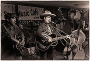 Jet and a couple of his Ranch Hands at The Bus Stop Music Cafe in Pitman, NJ.