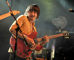 The Hot Sprockets during their performance at the Westport Music Festival.<br /> Pic Conor McKeown