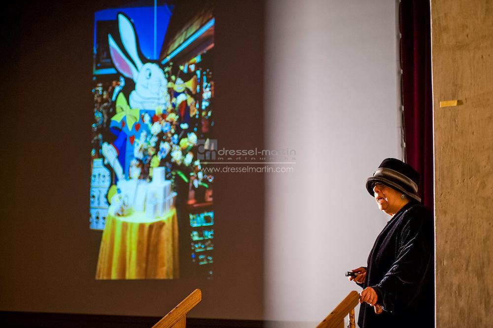 Bonfils Stanton Lecture Series, Gertrud Jekyll re-enactor, presenter