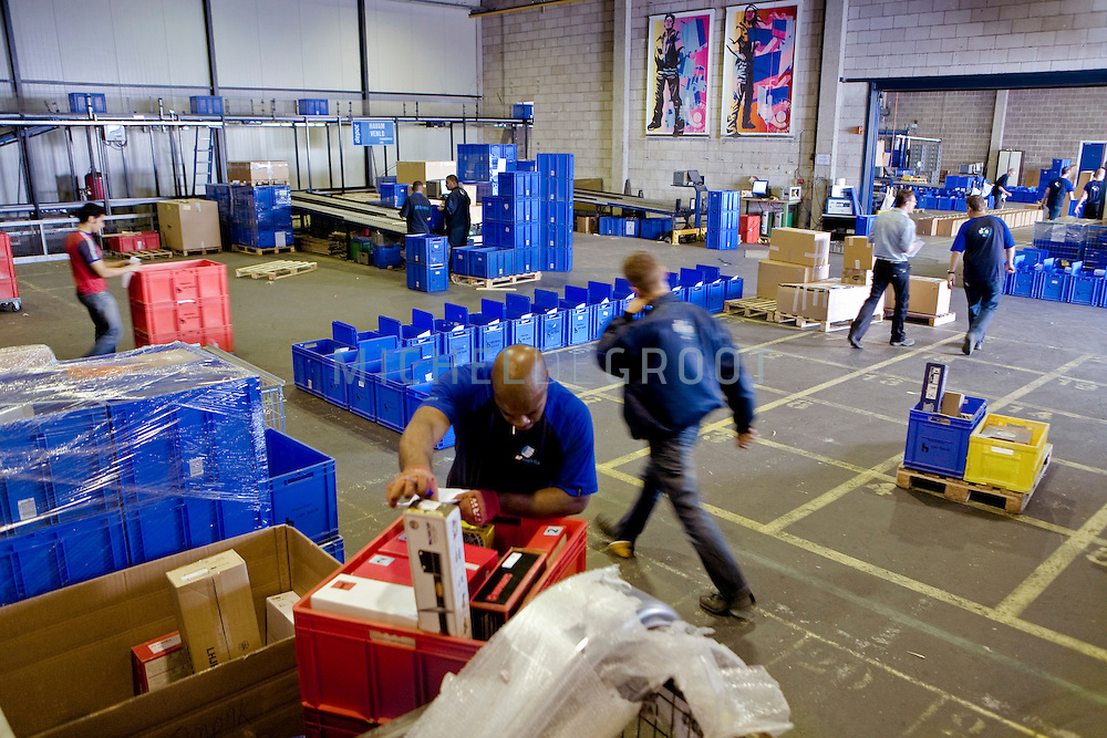 AP-Logistics in Schiedam, Netherlands op 23 July, 2009.  (Photo by Michel de Groot)