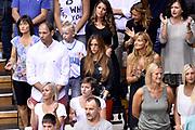 DESCRIZIONE : Trieste Nazionale Italia Uomini Torneo internazionale Italia Serbia Italy Serbia<br /> GIOCATORE : Nando Gentile Maria Vittoria Gentile<br /> CATEGORIA : Tifosi Vip<br /> SQUADRA : Italia Italy<br /> EVENTO : Torneo Internazionale Trieste<br /> GARA : Italia Serbia Italy Serbia<br /> DATA : 05/08/2014<br /> SPORT : Pallacanestro<br /> AUTORE : Agenzia Ciamillo-Castoria/Max.Ceretti<br /> Galleria : FIP Nazionali 2014<br /> Fotonotizia : Trieste Nazionale Italia Uomini Torneo internazionale Italia Serbia Italy Serbia