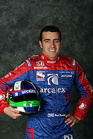 Dario Franchitti, portrait shoot, Homestead Miami Speedway, Homestead, FL USA 1/22/05