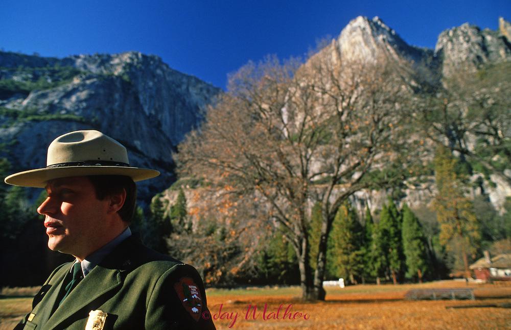 Yosemite National Park Superintendent Michael V. Finley.  1989-1994  November 1989