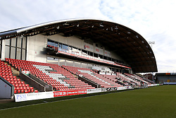 A general view of Highbury Stadium - Mandatory by-line: Matt McNulty/JMP - 14/01/2017 - FOOTBALL - Highbury Stadium - Fleetwood, England - Fleetwood Town v Bristol Rovers - Sky Bet League One
