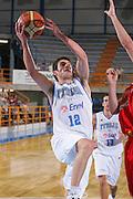 DESCRIZIONE : Gorizia U20 European Championship Men Qualifying Round Italy Spain <br /> GIOCATORE : D'Ercole <br /> SQUADRA : Italy <br /> EVENTO : Gorizia U20 European Championship Men Qualifying Round Italy Spain Campionato Europeo Maschile Under 20 Qualificazioni Italia Spagna <br /> GARA : Italy Spain <br /> DATA : 12/07/2007 <br /> CATEGORIA : Tiro <br /> SPORT : Pallacanestro <br /> AUTORE : Agenzia Ciamillo-Castoria/S.Silvestri <br /> Galleria : Europeo Under 20 <br /> Fotonotizia : Gorizia U20 European Championship Men Qualifying Round Italy Spain <br /> Predefinita :
