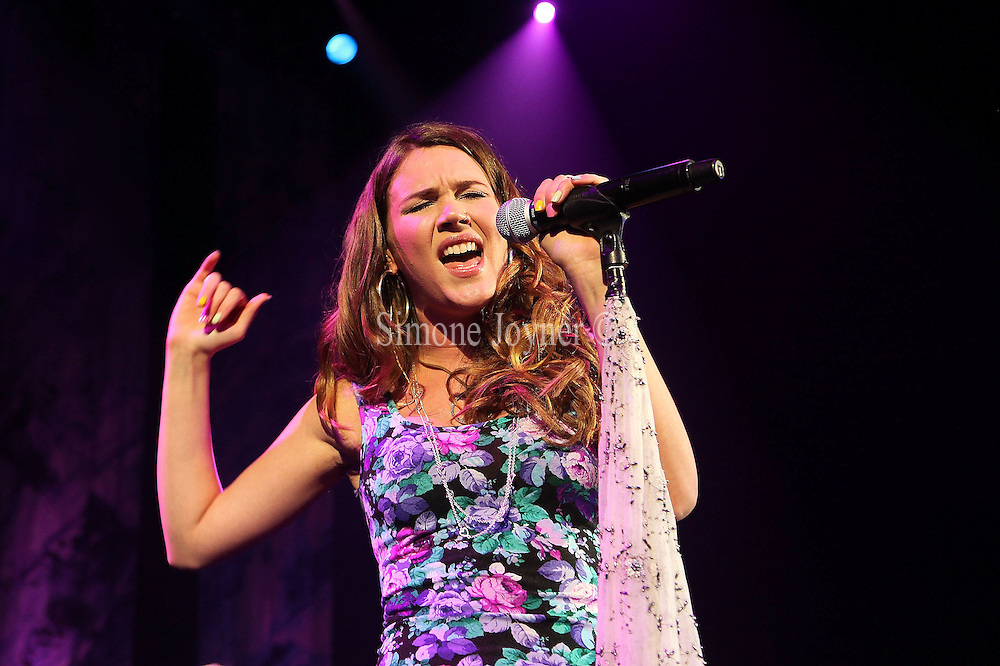 Joss Stone performs live on stage at Shepherds Bush Empire on March 11, 2010 in London, England. (Photo by Simone Joyner)
