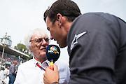 September 4, 2016: Bernie Ecclestone and Will Buxton , Italian Grand Prix at Monza
