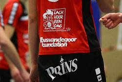 20160130 NED: Volleybal: Inter Rijswijk - Prins VCV, Rijswijk <br />Prins VCV steunt de Bas van de Goor Foundation en Stichting Lach voor een Dag