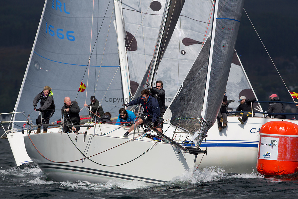 Pelle P Kip Regatta 2017 run by Royal Western Yacht Club at Kip Marina on the Clyde. <br /> <br /> TBA2, Jacob VII, John Stamp, Port Edgar, Corby 33<br /> <br /> Image Credit Marc Turner