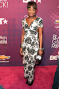 October 13, 2012- Bronx, NY: On-Air Personality Tai Beauchamp  at the Black Girls Rock! Awards Red Carpet presented by BET Networks and sponsored by Chevy held at the Paradise Theater on October 13, 2012 in the Bronx, New York. BLACK GIRLS ROCK! Inc. is 501(c)3 non-profit youth empowerment and mentoring organization founded by DJ Beverly Bond, established to promote the arts for young women of color, as well as to encourage dialogue and analysis of the ways women of color are portrayed in the media. (Terrence Jennings)