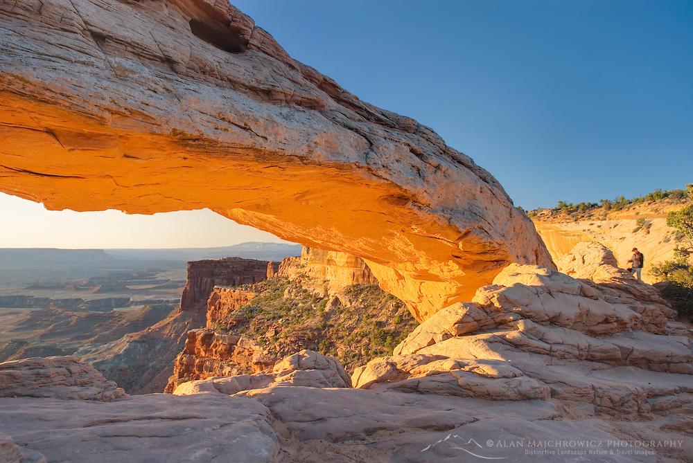Sunrise at Mesa Arch, Canyonlands National Park Utah