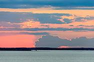 Noyack Bay Sunset, Sag Harbor, NY, North Haven