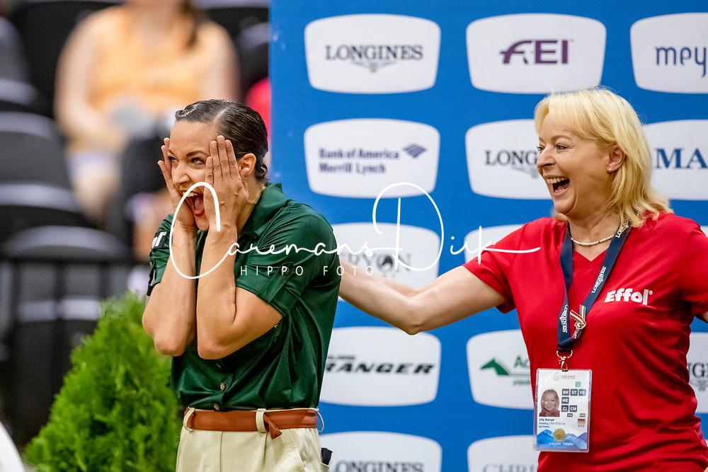 Boe Kristina, GER, Don de la Mare, Lunger Schlüter Winnie<br /> World Equestrian Games - Tryon 2018<br /> © Hippo Foto - Stefan Lafrenz<br /> 22/09/18