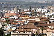 Spanien, Kanarische Inseln, Teneriffa..La Laguna, Blick über die Stadt..|..Spain, Canary Islands, Tenerife..La Lagauna, view over the town