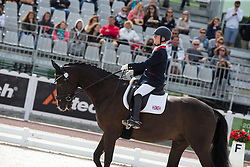 Ricky Balshaw, (GBR), LJT Enggaards Solitaire - Freestyle Grade Ia Para Dressage - Alltech FEI World Equestrian Games™ 2014 - Normandy, France.<br /> © Hippo Foto Team - Leanjo de Koster<br /> 25/06/14