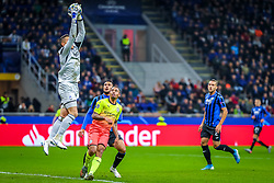 November 6, 2019, Milano, Italy: pierluigi gollini (atalanta bc)during Tournament round, group C, Atalanta vs Manchester City, Soccer Champions League Men Championship in Milano, Italy, November 06 2019 - LPS/Fabrizio Carabelli (Credit Image: © Fabrizio Carabelli/LPS via ZUMA Wire)