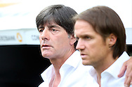 Joachim Low (right) and assistant Thomas Schneider of Germany during the International Friendly match at WWK Arena, Augsburg<br /> Picture by EXPA Pictures/Focus Images Ltd 07814482222<br /> 27/05/2016<br /> ***UK &amp; IRELAND ONLY***<br /> EXPA-EIB-160529-0150.jpg