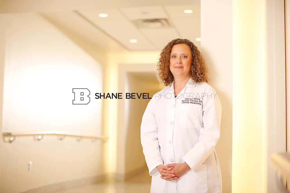 5/28/15 4:23:37 PM -- Dr. Renee Frenier of Saint Francis Health System poses for a portrait for the 2015 Advertising Campaign. <br /> <br /> Photo by Shane Bevel