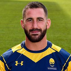 Matt Cox of Worcester Warriors - Mandatory by-line: Robbie Stephenson/JMP - 25/08/2017 - RUGBY - Sixways Stadium - Worcester, England - Worcester Warriors Headshots