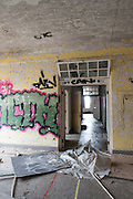 Ridges Building #26 TB Tuberculosis Clinic Former Beacon School Demoltion Photo By Ben Siegel/ Ohio University®