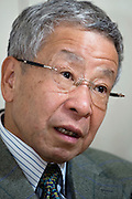 Waseda University Eisuke Sakakibara speaks during an interview at his offices in Tokyo, Japan on Friday 09 April 2010. Photographer: Rob Gilhooly