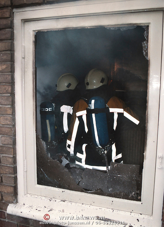 Brand in keuken Brede Englaan