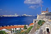 El Morro Fortress, Havana Cuba Skyline