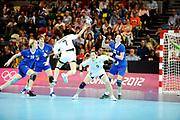 DESCRIZIONE : Handball Jeux Olympiques Londres Quart de Finale<br /> GIOCATORE : Gwon Han Na<br /> SQUADRA : Coree Femme<br /> EVENTO :  Handball Jeux Olympiques<br /> GARA : Coree Russie<br /> DATA : 07 08 2012<br /> CATEGORIA : handball Jeux Olympiques<br /> SPORT : HANDBALL<br /> AUTORE : JF Molliere <br /> Galleria : France JEUX OLYMPIQUES 2012 Action<br /> Fotonotizia : France Handball Femme Jeux Olympiques Londres Quart de Finale Copper Box<br /> Predefinita :