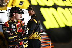 June 2, 2017 - Dover, DE, United States of America - June 02, 2017 - Dover, DE, USA: Erik Jones (77) hangs out in the garage prior to practice for the AAA 400 Drive for Autism at Dover International Speedway in Dover, DE. (Credit Image: © Justin R. Noe Asp Inc/ASP via ZUMA Wire)