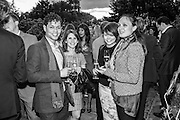 AARON CESAR; MARGHERITA MOLINARI; ELEANOR DILLOWAY; DANNI BURROWS, Dinner to celebrate the 10th Anniversary of Contemporary Istanbul Hosted at the Residence of Freda & Izak Uziyel, London. 23 June 2015