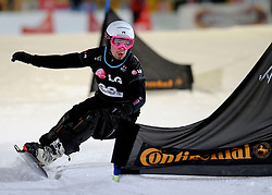 10-10-2010 SNOWBOARDEN: LG FIS WORLDCUP: LANDGRAAF<br /> First World Cup parallel slalom of the season / HAFNER Jure SLO<br /> ©2010-WWW.FOTOHOOGENDOORN.NL