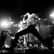 Ceremony performs at the Rainbow Ballroom in Fresno, California USA on January 27, 2010.