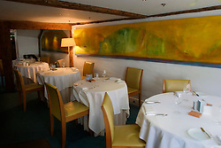 UK ENGLAND BERKSHIRE BRAY 28APR04 - Interior view at The Fat Duck restaurant in the village of Bray, Berkshire. The Fat Duck recently won the second best award amongst the world's best restaurants and was awarded its third Michelin Star in January.....jre/Photo by Jiri Rezac for Bild am Sonntag....© Jiri Rezac 2004....Contact: +44 (0) 7050 110 417..Mobile:  +44 (0) 7801 337 683..Office:  +44 (0) 20 8968 9635....Email:   jiri@jirirezac.com..Web:    www.jirirezac.com....© All images Jiri Rezac 2004 - All rights reserved.