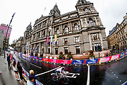 Time Trial Women 32,3 km, Lisa Brennauer (Germay) during the Road Cycling European Championships Glasgow 2018, in Glasgow City Centre and metropolitan areas Great Britain, Day 7, on August 8, 2018 - photo Luca Bettini / BettiniPhoto / ProSportsImages / DPPI<br /> - restriction - Netherlands out, Belgium out, Spain out, Italy out
